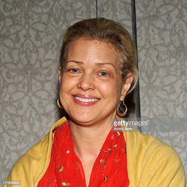 Melody Anderson of Flash Gordon attends the 2008 Super Megashow and Comic Fest at the Ramada Hotel and Conference Center on December 6 2008 in East...