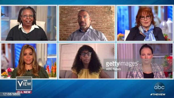 """Melody Cooper and Christian Cooper are guests on """"The View,"""" on Thursday, May 28, 2020 on ABC. WHOOPI GOLDBERG, SUNNY HOSTIN, CHRISTIAN COOPER,..."""