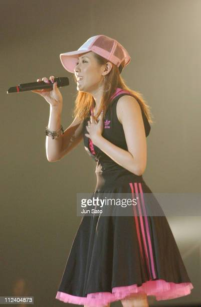 Melody. During MTV The Super Dry Live 2004 at National Yoyogi Gymnasium in Tokyo, Japan.