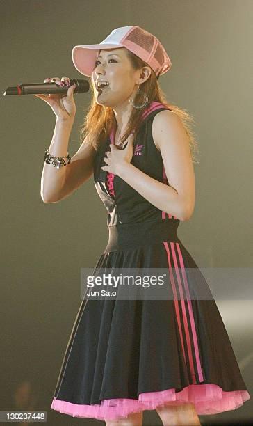 melody during MTV The Super Dry Live 2004 at National Yoyogi Gymnasium in Tokyo Japan