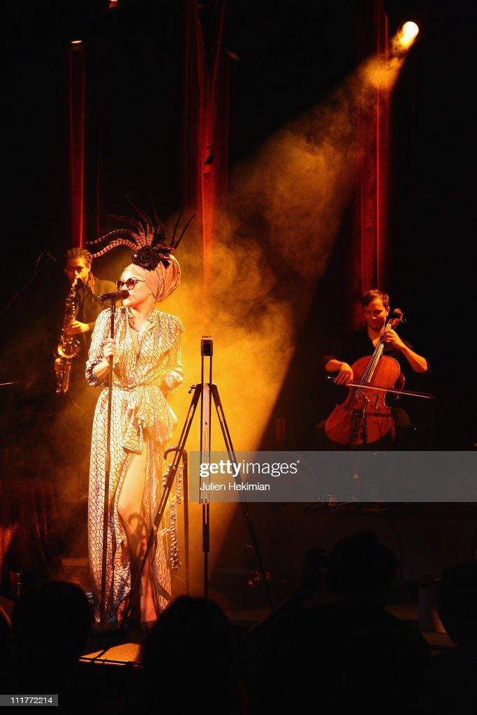 Melody Gardot Private Concert At Palais de Chaillot