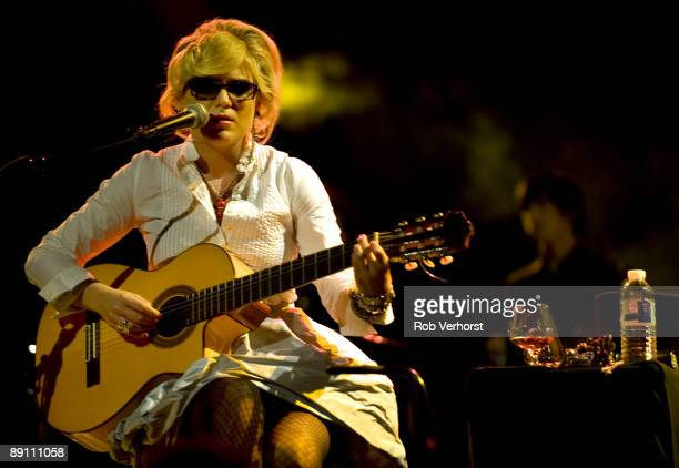 Melody Gardot performs live at The North Sea Jazz Festival Ahoy Rotterdam in Holland on July 12 2009