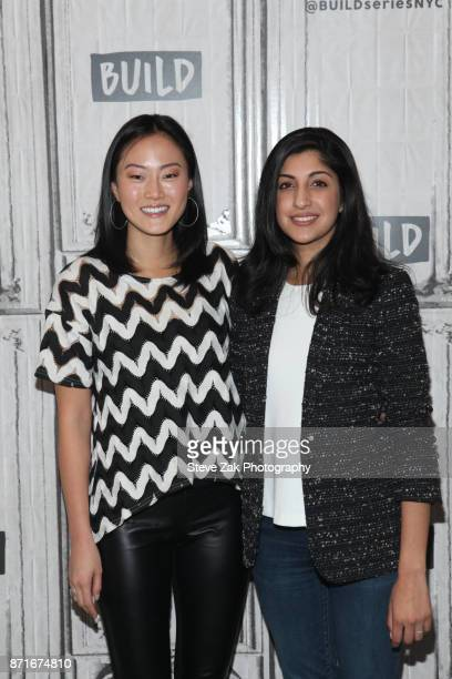 Melody Hahm and Anaji Sud attend Build Series to discuss Yahoo Finance Breakout Breakfast at Build Studio on November 8 2017 in New York City