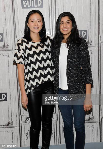 Melody Hahm and Vimeo CEO Anjali Sud attend the Yahoo Finance Breakout Breakfast at Build Studio on November 8 2017 in New York City