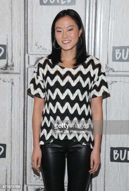 Melody Hahm attends Build Series to discuss Yahoo Finance Breakout Breakfast at Build Studio on November 8 2017 in New York City