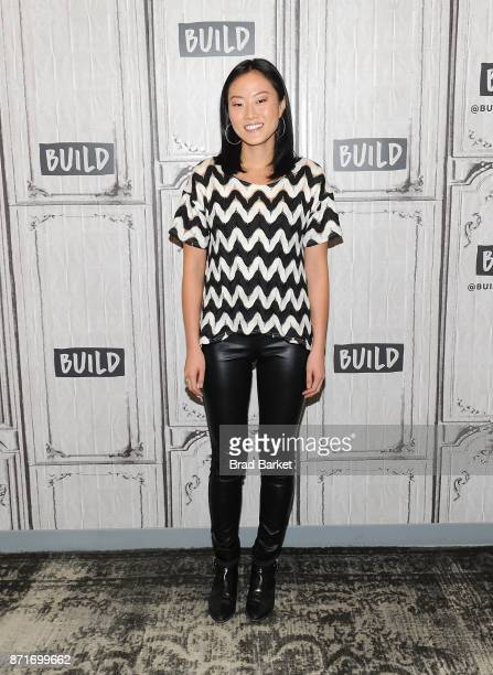 Melody Hahm attends the Yahoo Finance Breakout Breakfast at Build Studio on November 8 2017 in New York City