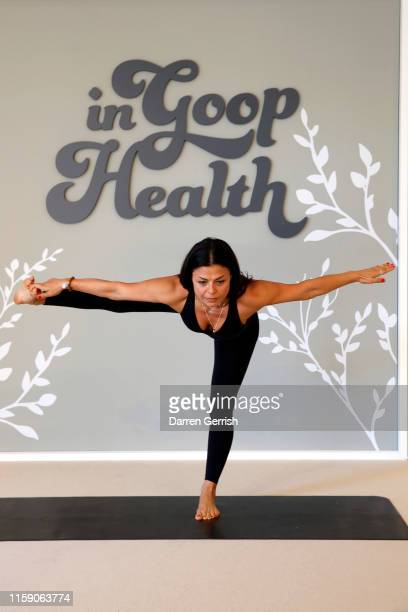 Melody Hekmatat In goop Health London 2019 on June 29 2019 in London England