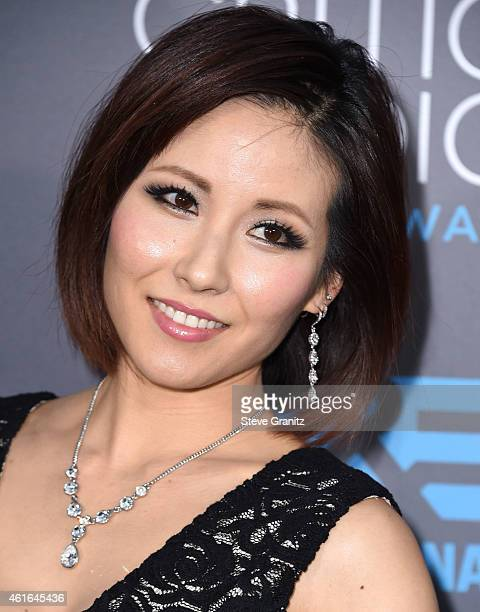 Melody Ishihara arrives at the 20th Annual Critics' Choice Movie Awards at Hollywood Palladium on January 15, 2015 in Los Angeles, California.