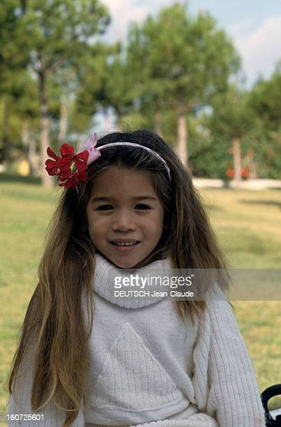Melody Nakachian Kidnapped In Marbella And Released After 12 Days By Her Captors novembre 1987 Portrait de Mélodie NAKACHIAN fille de Raymond...