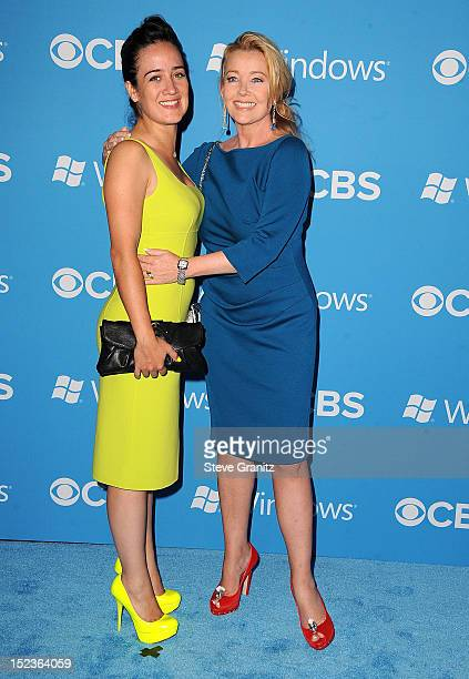 Melody Thomas Scott and daughter arrives at the CBS 2012 Fall Premiere Party at Greystone Manor Supperclub on September 18 2012 in West Hollywood...