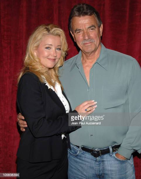 Melody Thomas Scott and Eric Braeden during The Young and The Restless Celebrate 900 Weeks as The Rated Daytime Drama at CBS Studios in Los Angeles...