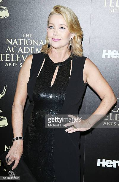 Melody Thomas Scott arrives at the 41st Annual Daytime Emmy Awards held at The Beverly Hilton Hotel on June 22 2014 in Beverly Hills California