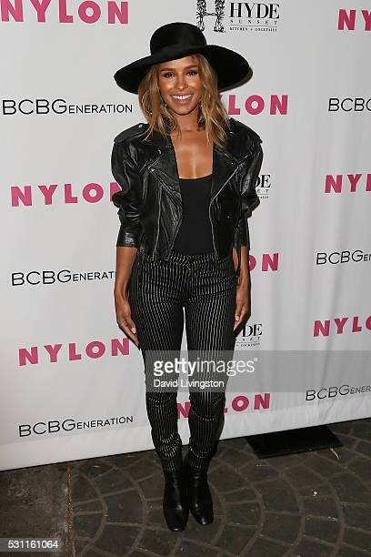 Melody Thornton arrives at NYLON and BCBGeneration's Annual Young Hollywood May Issue Event at HYDE Sunset Kitchen Cocktails on May 12 2016 in West...