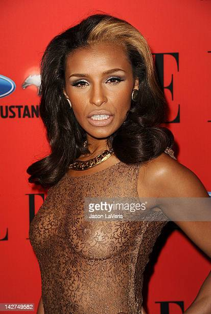 Melody Thornton attends the 3rd annual ELLE Women In Music event at Avalon on April 11 2012 in Hollywood California