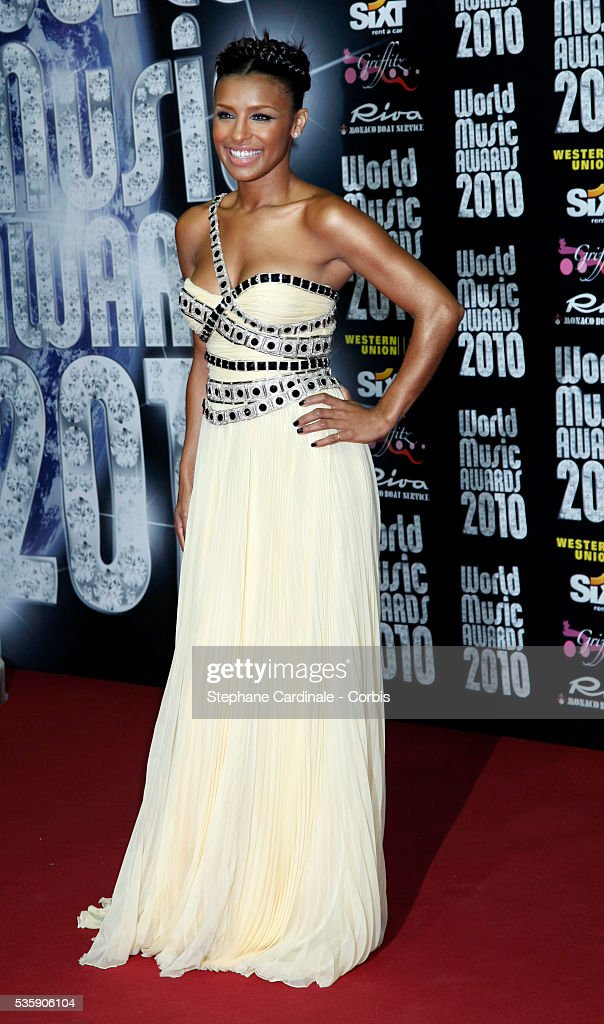 Melody Thornton attends the 'World Music Awards 2010 - show' at the Sporting Club on May 18, 2010 in Monte Carlo, Monaco.