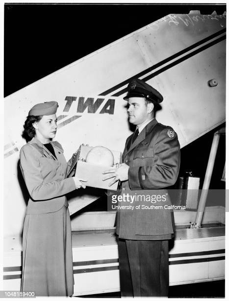 Melon for dying Major 28 December 1951 Major Francis J Furey dying of leukemia in Walter Reed Hospital made a request for honey dew melon Western Air...