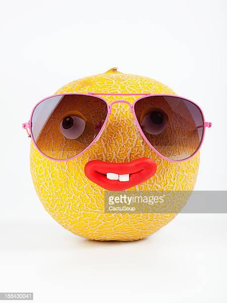 Melone Porträt