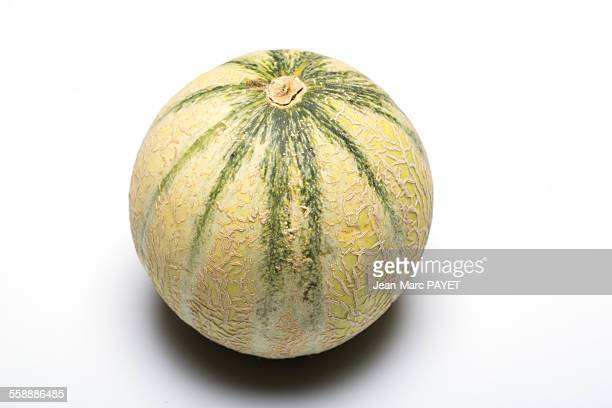 melon seen on the side - jean marc payet stockfoto's en -beelden