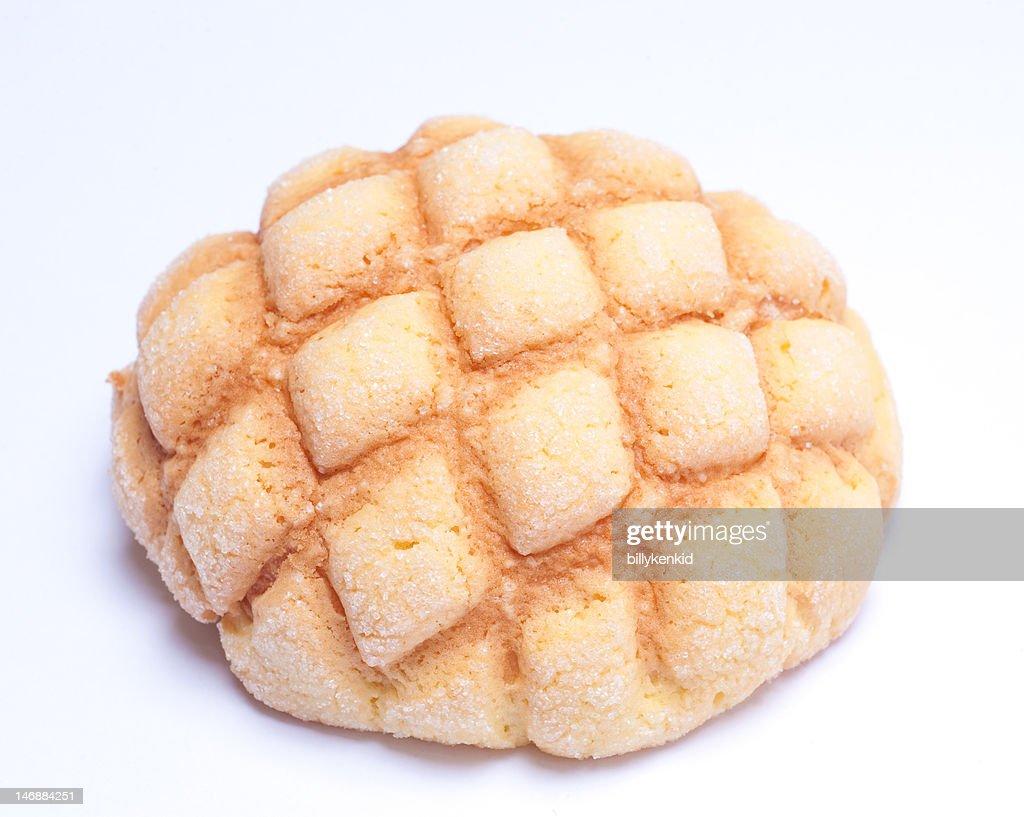 Melon-flavored bread : Stock Photo
