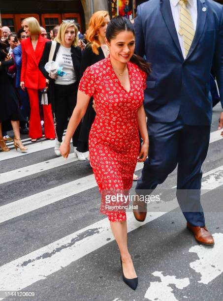 Melonie Diaz attends the 2019 CW Network Upfront on May 16 2019 in New York City