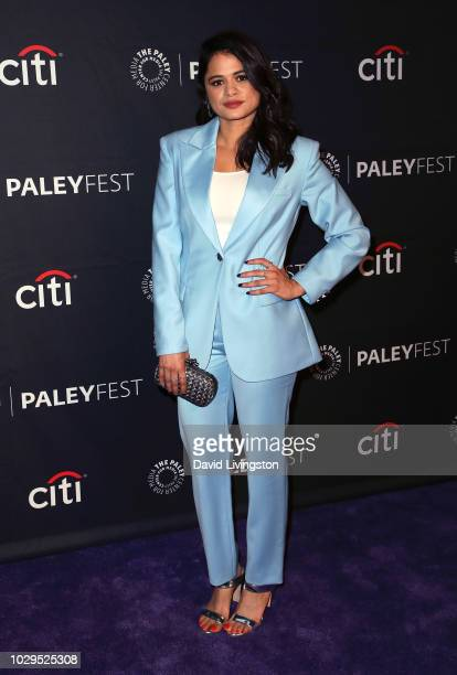 Melonie Diaz from Charmed attends The Paley Center for Media's 2018 PaleyFest Fall TV Previews The CW at The Paley Center for Media on September 8...