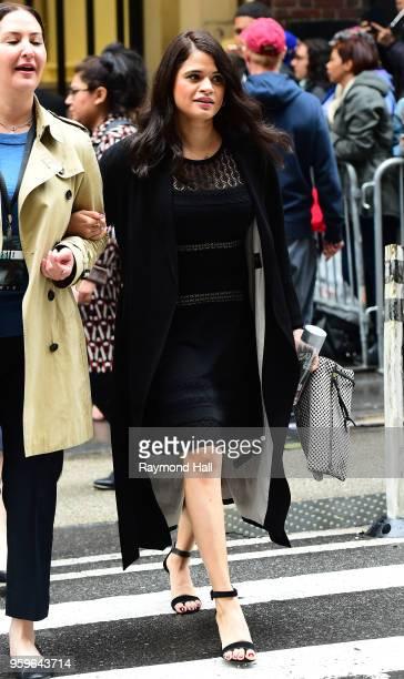Melonie Diaz iss seen walking in midtown on May 17 2018 in New York City