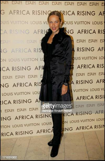 Melonie Foster Hennessy at Every Journey Began In Africa Party For The Exhibition Africa Rising And The Discovery Of The Collaboration Between Edun...