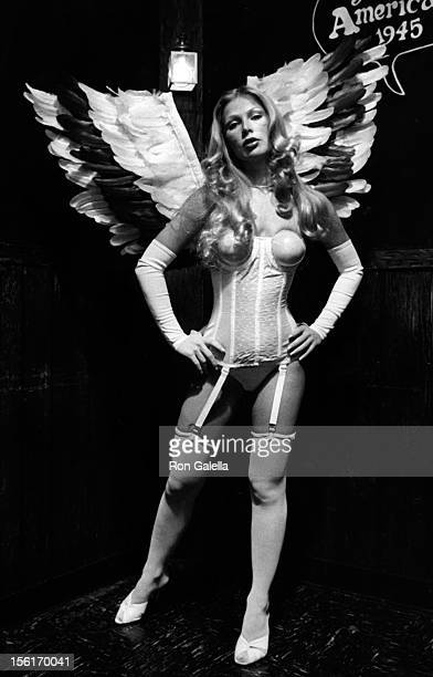 Melonie Haller sighted on November 30 1976 at Comic Strip in New York City