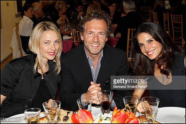 Melonie Hennesssy Foster Stephane Freiss and wife Ursula at The Gala Dinner For The Society Of Friends Of The National Museum Of Modern Art Held At...