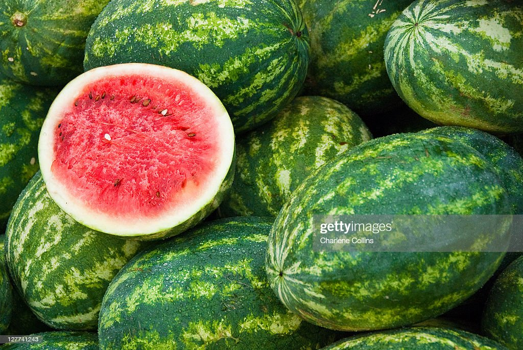 Melons in Southfield : Stock Photo