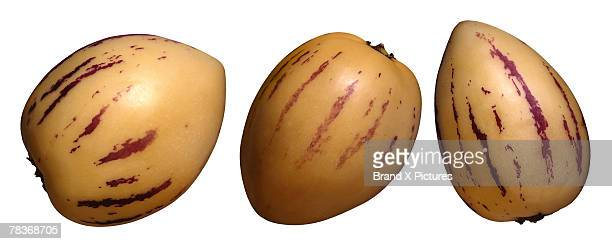 melons - pepino stock pictures, royalty-free photos & images