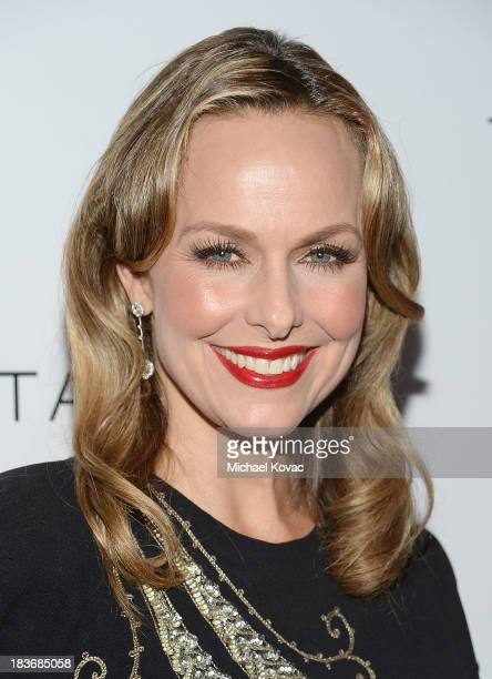 Melora Hardin arrives at Club Tacori 2013 at Greystone Manor Supperclub on October 8 2013 in West Hollywood California