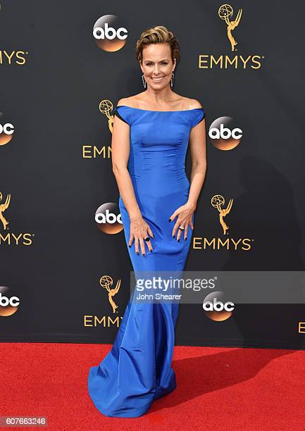 Melora Hardin arrives at the 68th Annual Primetime Emmy Awards at Microsoft Theater on September 18, 2016 in Los Angeles, California.