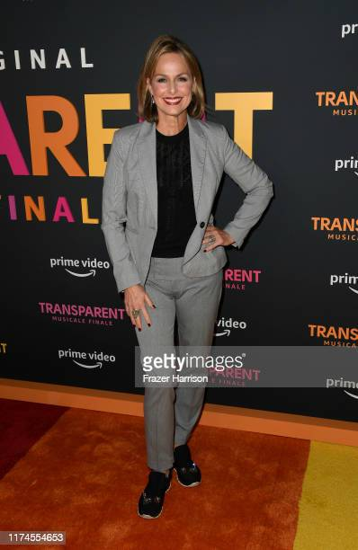 Melora Hardin arrives at the LA Premiere Of Amazon's Transparent Musicale Finale at Regal LA Live on September 13 2019 in Los Angeles California