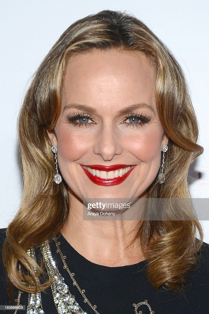 Melora Hardin arrives at the Tacori's annual Club Tacori 2013 event at Greystone Manor Supperclub on October 8, 2013 in West Hollywood, California.