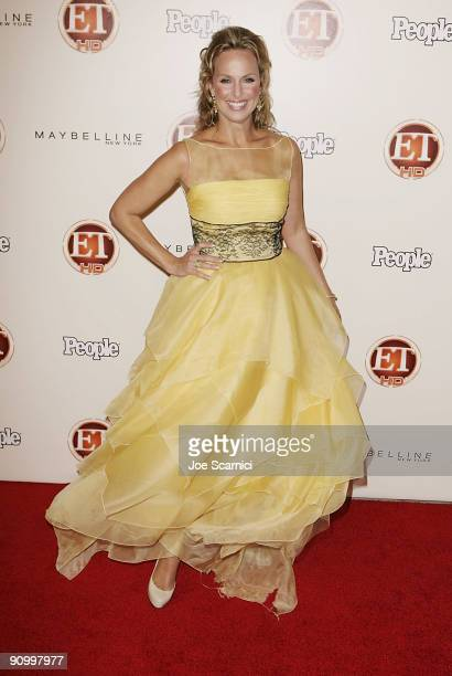 Melora Hardin arrives at Vibiana for the 13th Annual Entertainment Tonight and People magazine Emmys After Party on September 20, 2009 in Los...