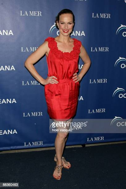 Melora Hardin attends Oceana's celebration of World Oceans Day with La Mer at a private residence on June 8 2009 in Los Angeles California