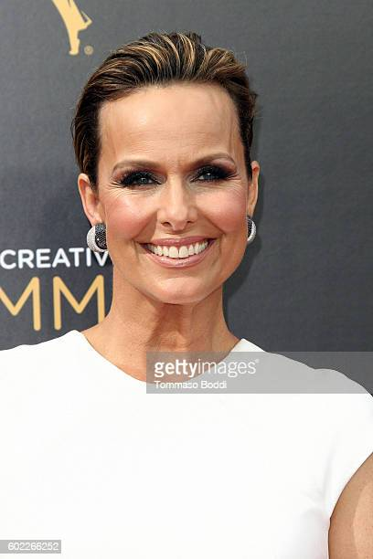Melora Hardin attends the 2016 Creative Arts Emmy Awards held at Microsoft Theater on September 10 2016 in Los Angeles California
