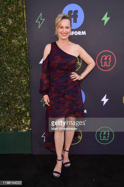 Melora Hardin attends the 2nd Annual Freeform Summit at Goya Studios on March 27 2019 in Los Angeles California