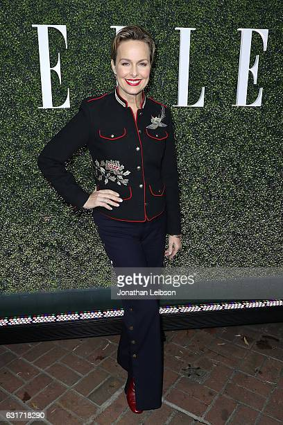 Melora Hardin attends the ELLE's Annual Women In Television Celebration 2017 Red Carpet at Chateau Marmont on January 14 2017 in Los Angeles...