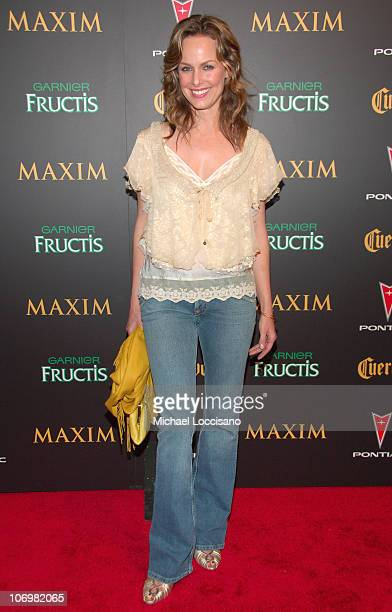 Melora Hardin during 7th Annual Maxim Hot 100 Party at Buddha Bar in New York City New York United States