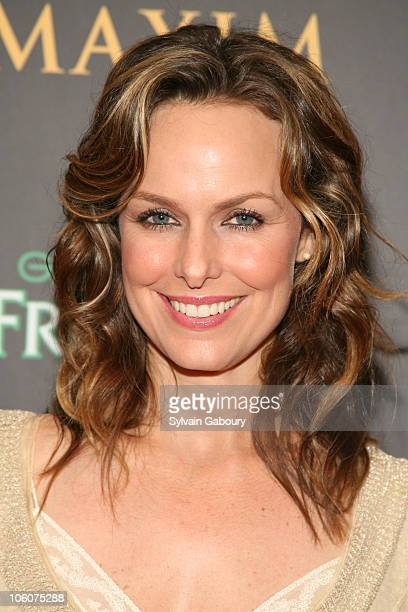 Melora Hardin during Maxim Magazine's 7th Annual Hot 100 Party Arrivals at Buddha Bar in New York New York United States