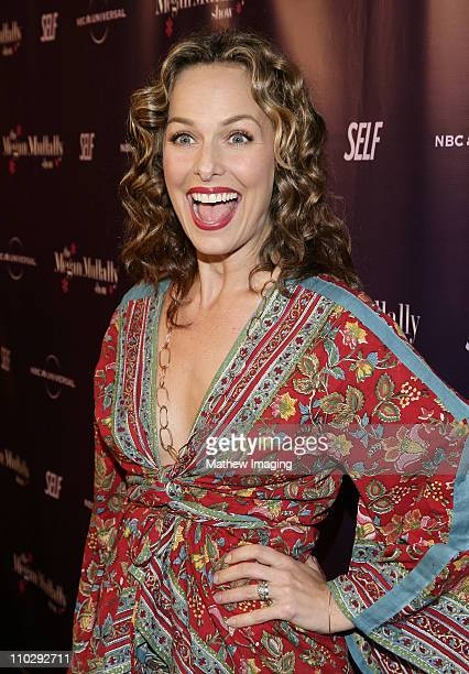 Melora Hardin during NBC Universal and SELF Magazine Celebrate the Launch of The Megan Mullally Show at Sunset Tower Hotel in West Hollywood...