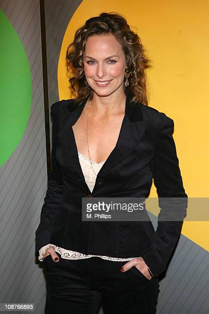 Melora Hardin during NBC's Winter 2007 TCA Press Tour All-Star Party - Red Carpet and Inside at Ritz-Carlton in Pasadena, California, United States.