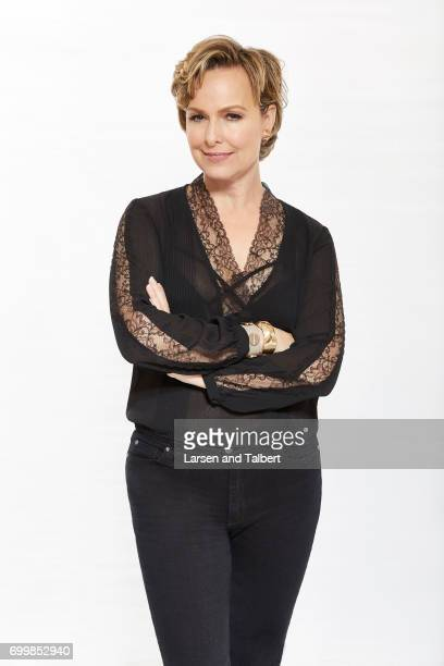Melora Hardin of Freeform's 'The Bold Type' is photographed for Entertainment Weekly Magazine on June 9 2017 in Austin Texas