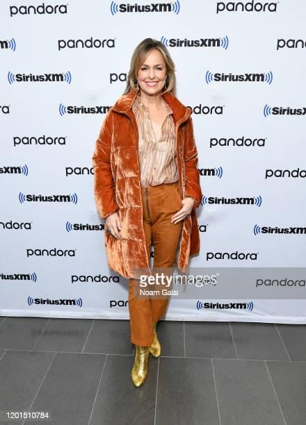 Melora Hardin visits the SiriusXM Studios on January 23 2020 in New York City