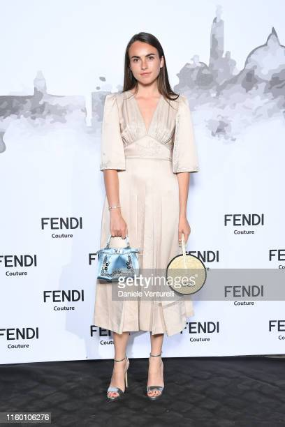 Melousine Ruspoli attends the Cocktail at Fendi Couture Fall Winter 2019/2020 on July 04 2019 in Rome Italy