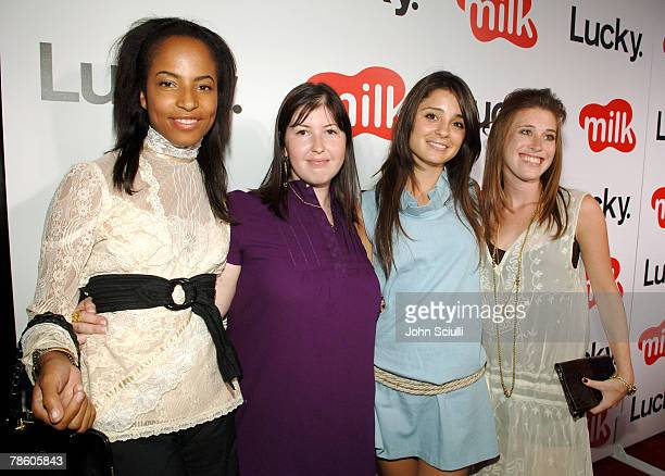 Mels Butler Marni Flans Shiri Appleby and Bari Milken