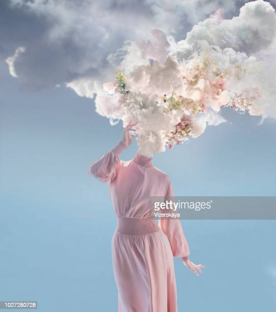melted women - pink flowers stock pictures, royalty-free photos & images