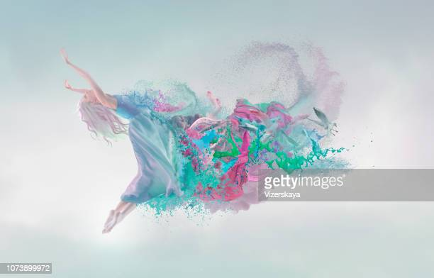 melting beauty at blue background - kama sutra art stock pictures, royalty-free photos & images